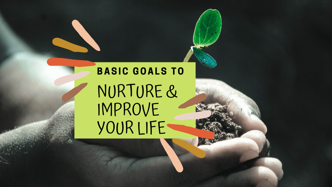 What are the Basic Goals that I Need to make my Life Better?