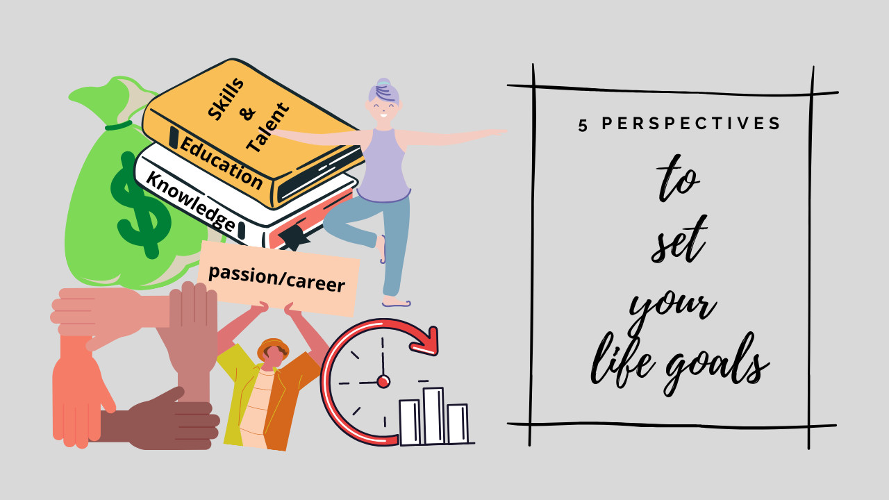 How to Find Your Life Goals? 5 perspectives you need to look into!
