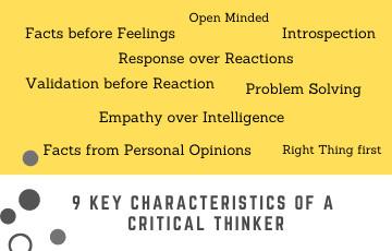 9 Key Characteristics of a Critical Thinker