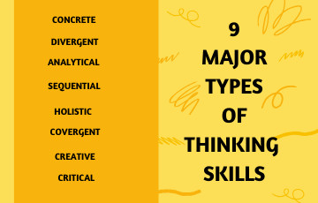 9 Major Types of Thinking SKills
