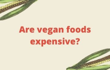 Are vegan foods expensive?