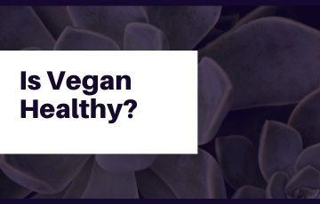 Is Vegan Healthy?
