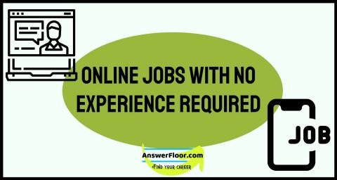 Online Jobs With no Experience Required