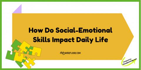 How Do Social-Emotional Skills Impact Daily Life