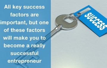 Four most important key to success