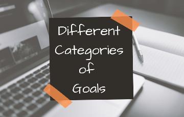 4 Different Categories of Goals