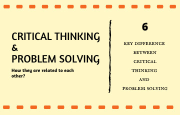 What are the major steps to critical thinking as it relates to problem-solving?