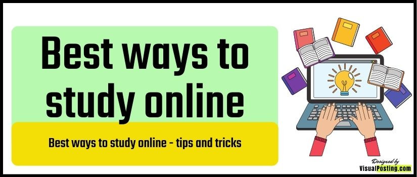 Best ways to study online - tips and tricks
