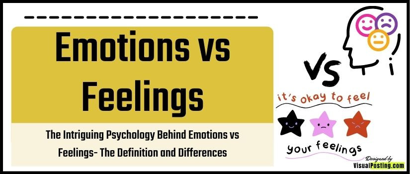 The Intriguing Psychology Behind Emotions vs Feelings: The Definition and Differences
