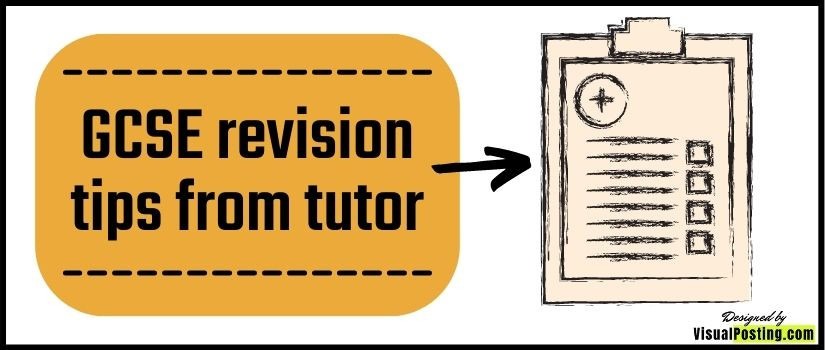 GCSE revision tips from tutor