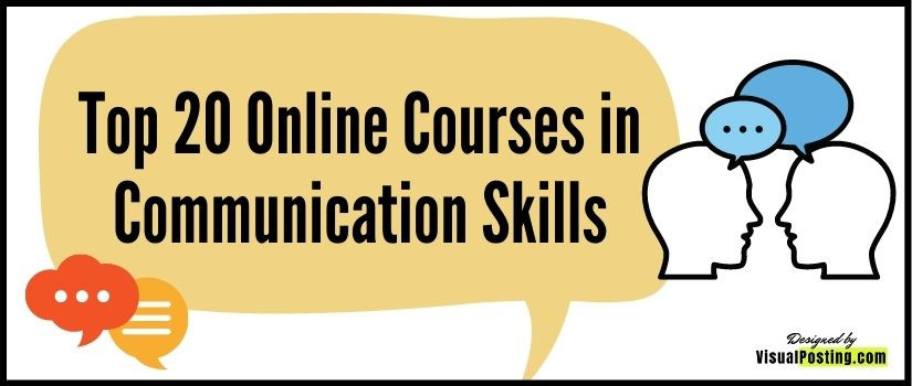 Top 20 Online Courses in Communication Skills