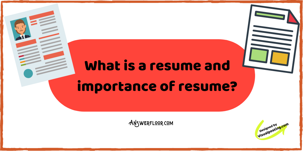 What is a resume and importance of resume?.png