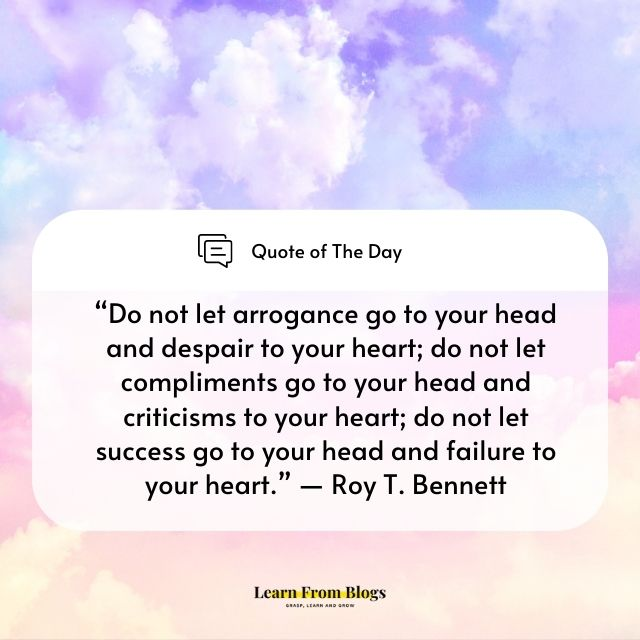 Do not let arrogance go to your head.jpg